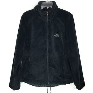 The NORTH FACE Large Black Fuzzy Full Zip Jacket